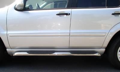 Aries - Mercedes-Benz ML Aries Sidebars - 3 Inch