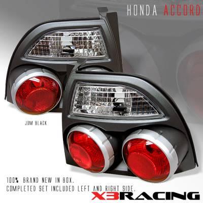 Custom - JDM 3D Black Taillights