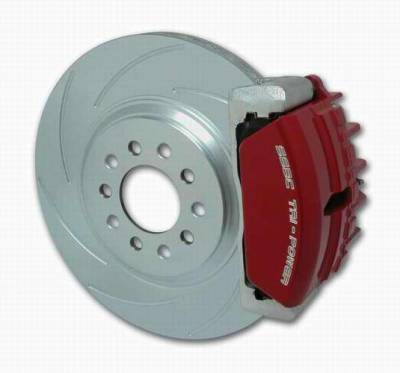 SSBC - SSBC Disc Brake Kit with Force 10 Tri-Power 3-Piston Aluminum Calipers & 13 Inch Rotors - Front - A162