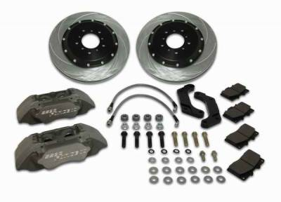 SSBC - SSBC Disc Brake Kit with Force 10 Extreme 4-Piston Aluminum Calipers & 14 Inch Rotors - Front - A164-14
