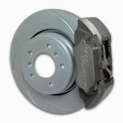 SSBC - SSBC Disc Brake Kit with Force 10 Extreme 4-Piston Aluminum Calipers & 13 Inch Rotors - Rear - A164-2
