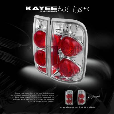 Custom - Jimmy Crystal Clear Taillights