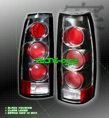 Custom - Euro Black Altezza Taillights