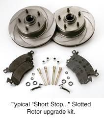 SSBC - SSBC Turbo Slotted Rotors & Pads  - Rear - A2350008R