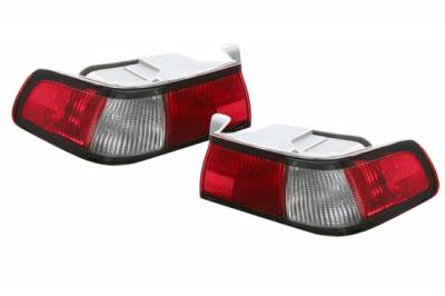 Custom - Red And Clear Taillights