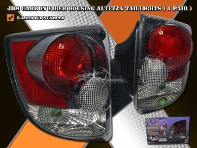 Custom - 3D Carbon Fiber Altezza Taillights