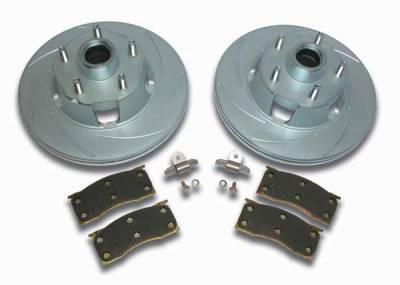 SSBC - SSBC Turbo Slotted Rotors & Pads - Front - A2360000