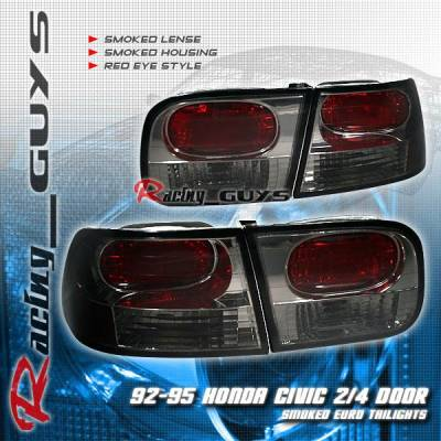 Custom - Smoked Red Eye Taillights