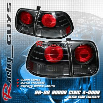 Custom - Black Altezza Crystal Taillights