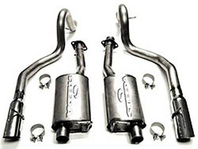 Steeda - Ford Mustang Steeda Stainless Steel Cat-Back Exhaust Kit - 16032