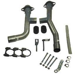 Steeda - Ford Mustang Steeda Dual Exhaust Adapter Kit - 16065