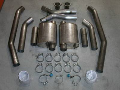 Stainless Works - Pontiac GTO Stainless Works Header & Exhaust System - 04GTOTM05RB