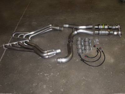Stainless Works - Jeep Grand Cherokee Stainless Works Header & Exhaust System - 60753372BT