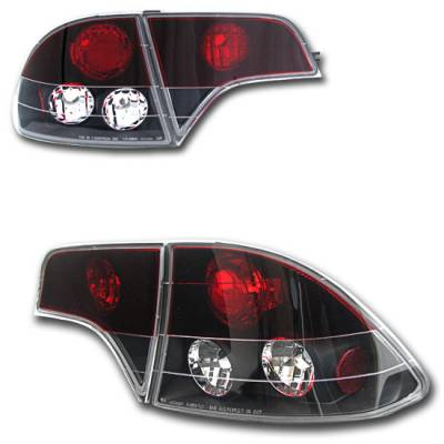 Custom - Black Red Clear Taillights
