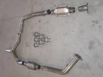 Stainless Works - Chevrolet Camaro Stainless Works Exhaust System - CA0002DC