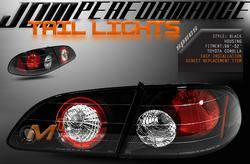 Custom - JDM Euro Black Altezza Taillights