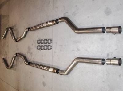Stainless Works - Chevrolet Camaro Stainless Works Hot Rod Exhaust System - CA679LSCH