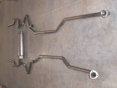 Stainless Works - Chevrolet Camaro Stainless Works Exhaust System - Transverse Muffler - CA7213S