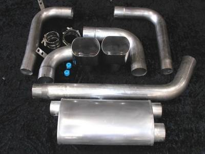 Stainless Works - Pontiac Firebird Stainless Works Chambered Exhaust System - CA93023-5