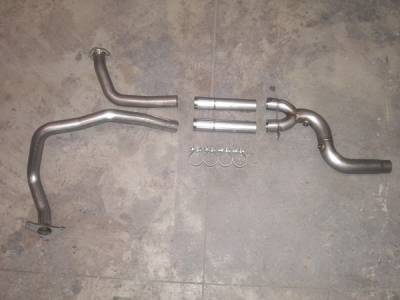 Stainless Works - Chevrolet Camaro Stainless Works Dual Cat-Back Exhaust System - CA957DCOS