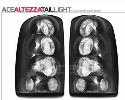 Custom - Black Clear Taillights