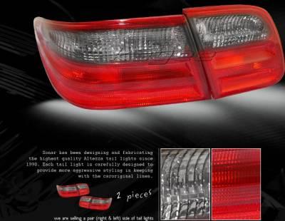 Custom - Red Smoke Taillights
