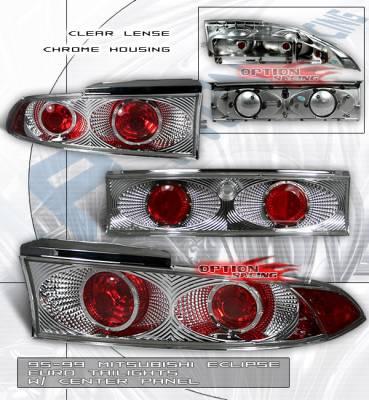 Custom - Chrome Clear Altezza Taillights