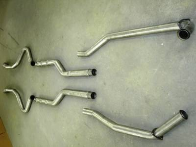 Stainless Works - Chevrolet Chevelle Stainless Works Chambered Exhaust System - CV67821AR