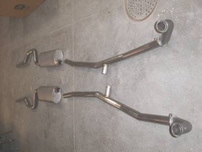 Stainless Works - Dodge Daytona Stainless Works Exhaust System - DOCT9401