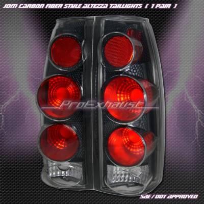 Custom - 3- D  Carbon Fiber Altezza Taillights