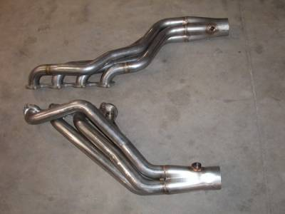 Stainless Works - Ford F150 Stainless Works Header & Exhaust System - FT54HDR