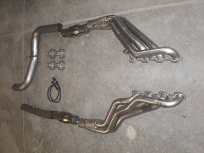 Stainless Works - Ford F150 Stainless Works Header & Exhaust System - FT54HDRCAT