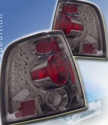 Custom - Flame Smoke Taillights