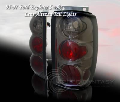 Custom - Smoke 3D Altezza Taillights