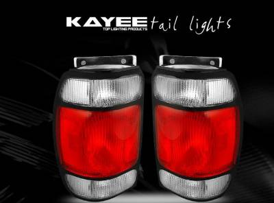 Custom - Red Crystal Taillights