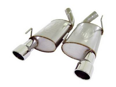 Stainless Works - Ford Mustang Stainless Works Exhaust System - M05MK