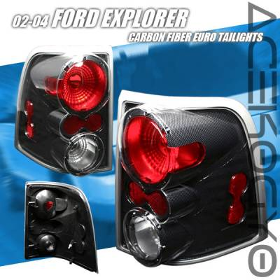 Custom - Euro Carbon Taillights