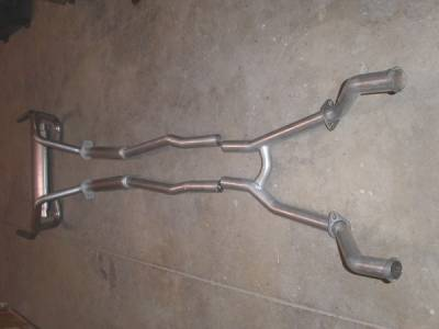 Stainless Works - Ford Mustang Stainless Works Dual Exhaust System - M6721200A