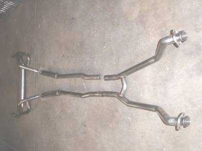 Stainless Works - Ford Mustang Stainless Works Dual Exhaust System - M6721200S