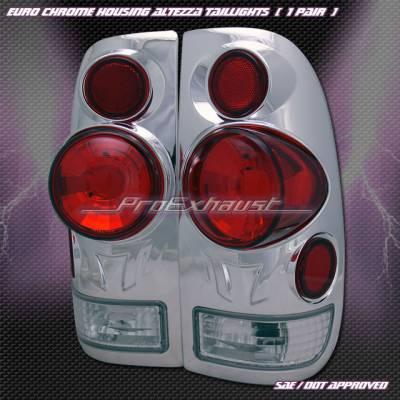 Custom - 3D Chrome Altezza Taillights