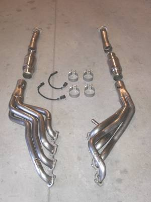Stainless Works - Mercury Marauder Stainless Works Header & Exhaust System - MAUCAT