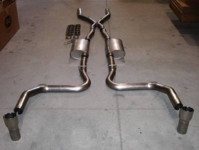 Stainless Works - Ford Mustang Stainless Works Exhaust System - MC03HOR