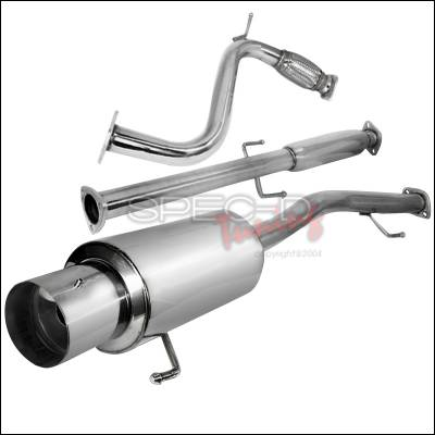 Spec-D - Honda Accord Spec-D N1 Style Catback Exhaust - MFCAT2-ACD90