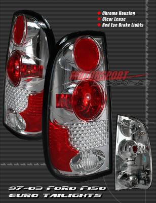 Custom - Chrome Red Eye Taillights