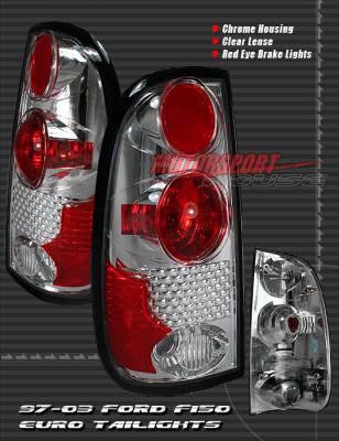 Custom - Chrome Red Eye Taillights