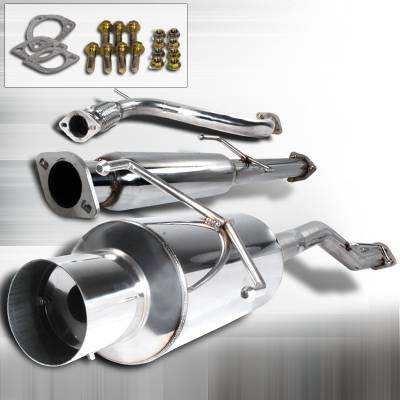 Spec-D - Honda Accord Spec-D N1 Style Catback Exhaust - MFCAT2-ACD94