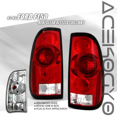 Custom - Red Clear Taillights