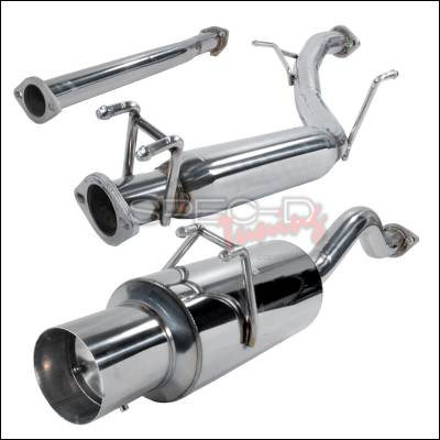 Spec-D - Honda Civic Spec-D N1 Style Catback Exhaust - MFCAT2-CV062SI