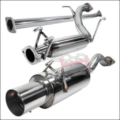 Spec-D - Honda Civic Spec-D N1 Style Catback Exhaust - MFCAT2-CV064