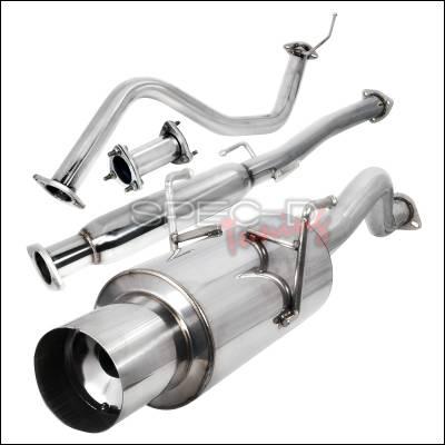 Spec-D - Acura Integra Spec-D N1 Style Catback Exhaust - MFCAT2-INT94GSR